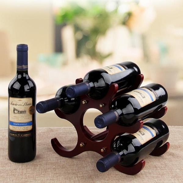 紅酒架擺件木質歐式葡萄酒架創意收納酒杯架家用紅酒柜展示架酒具 【韓語空間】