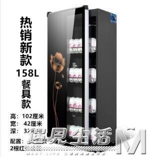 快速出貨 消毒櫃大型商用消毒碗櫃雙單門小型立式家用碗筷餐具消毒櫃220V