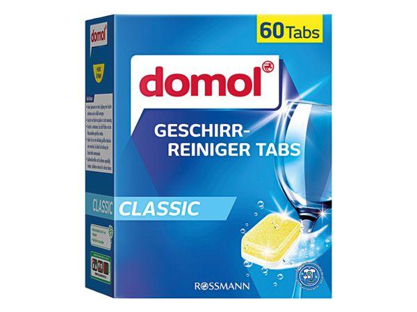 德國 domol~強效洗碗機洗碗錠(60顆)盒裝【DS000498】