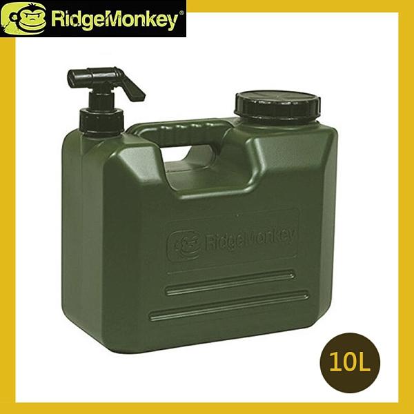 丹大戶外【RidgeMonkey】英國 軍風儲水桶 10L 飲水桶│茶水桶│冰桶│飲料桶│儲水箱
