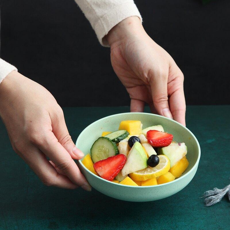 日式吐骨碟家用塑料小盤子水果盤圓形防摔北歐餐桌小吃點心菜碟子