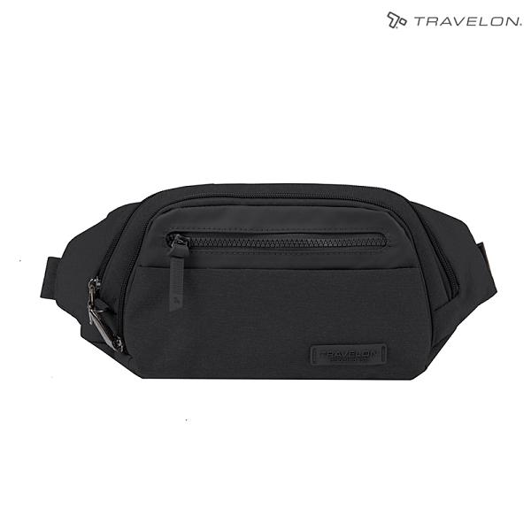 Travelon METRO腰包(TL-43418)(美國防盜包/都會斜背包/RFID防竊取/休閒旅遊)