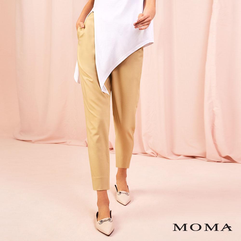 MOMA(01P097)皮帶裝飾老爺褲