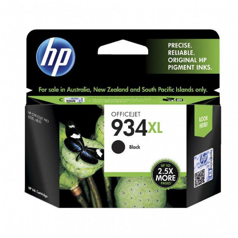 HP 934XL 黑色墨水匣(C2P23AA) 適用HP OfficeJet Pro 6230/6830