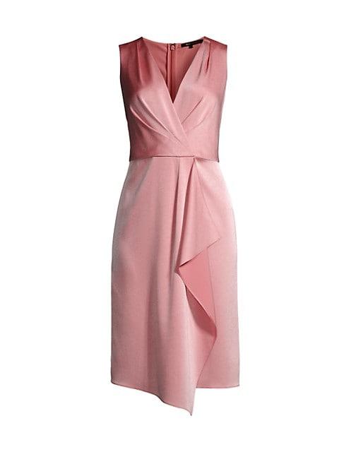 Limore Draped Sheath Dress
