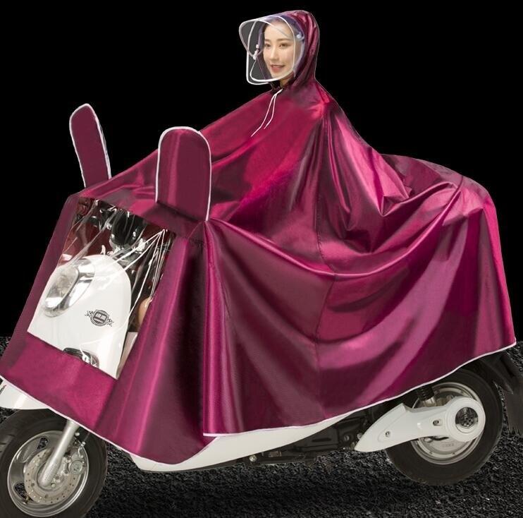 雨衣 戶外雨衣電動車加厚加大成人單人男女士摩托車電瓶車雨披