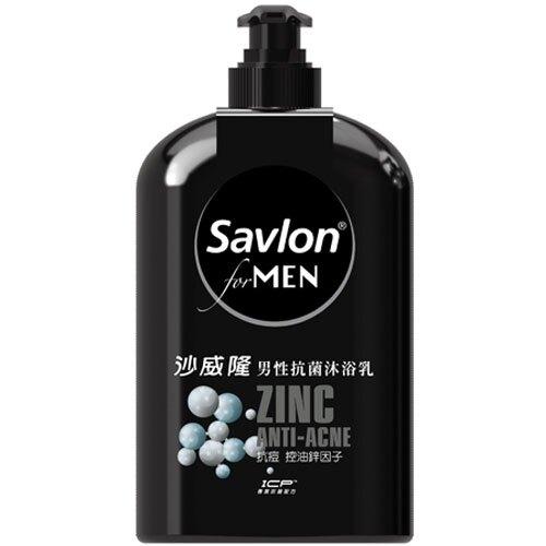 沙威隆 男性抗菌沐浴乳 抗痘 控油鋅因子 670ml