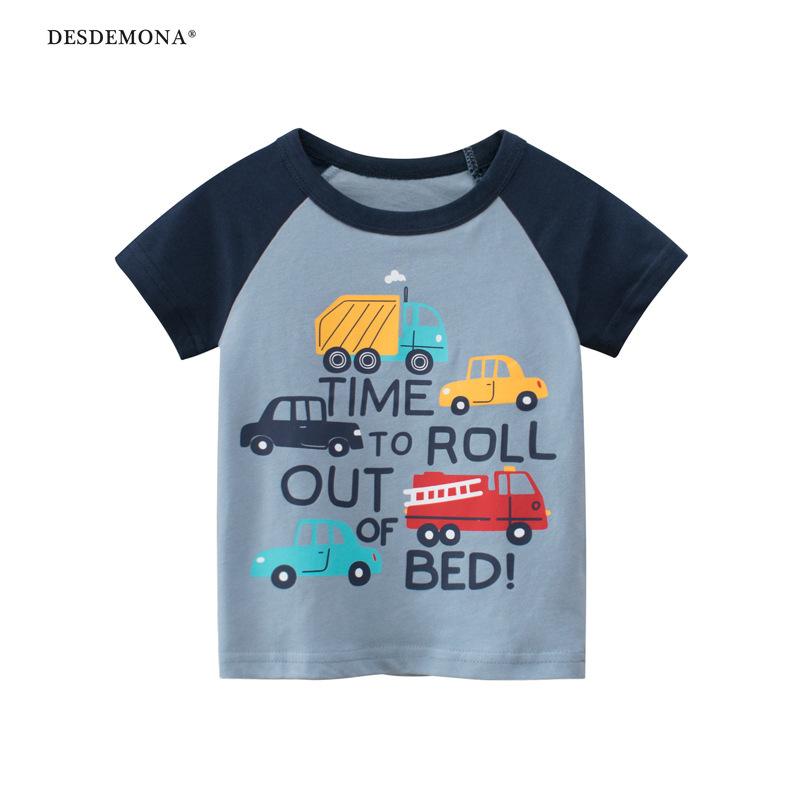 現貨出售 韓版童裝 2021夏季新款男孩短袖T恤 兒童汗衫 純棉短袖上衣