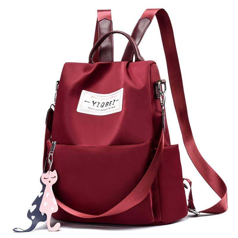 【免運】雙肩包女 後背包 新款韓版潮牛津布帆佈背包 時尚百搭女士旅行包 小包包女