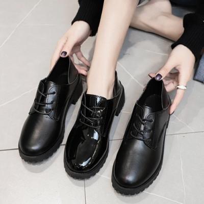 韓國KW美鞋館-復古學院牛津鞋(通勤鞋/休閒鞋)(共2色)
