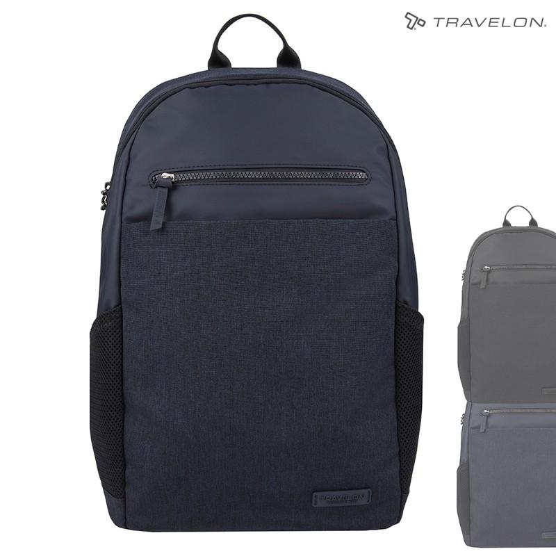 Travelon METRO商務休旅後背包(TL-43412)(美國防盜包/RFID防竊取/筆電包/輕旅行)