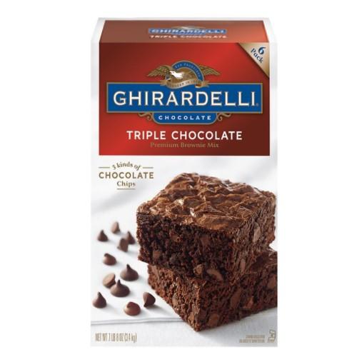 Ghirardelli 巧克力布朗尼預拌粉 3.4公斤 超取限購一包 C847909 COSC代購