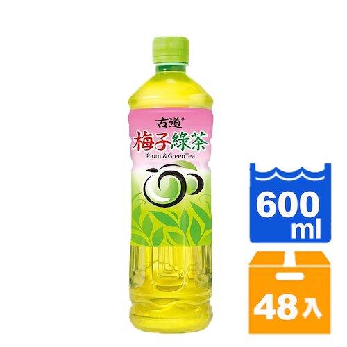 【免運】古道 梅子綠茶 600ml (24入)x2箱