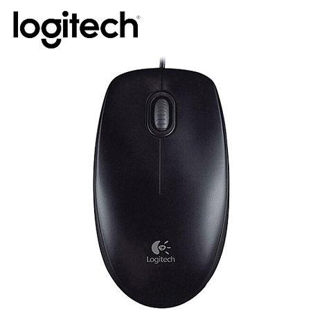 Logitech 羅技 B100 USB 有線光學滑鼠