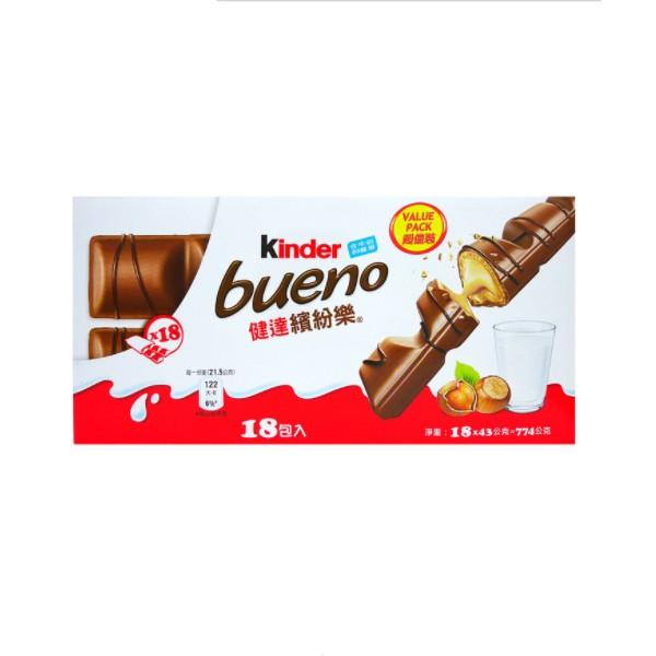 健達 Kinder 繽紛樂 巧克力 18包 C68940 COSCO代購