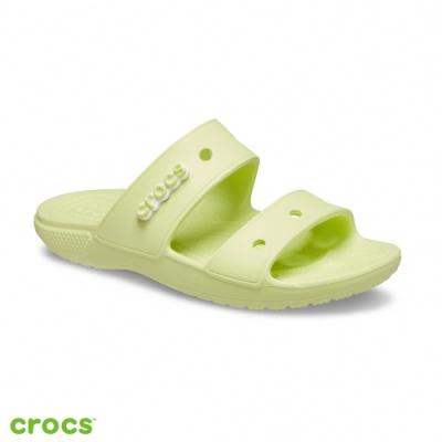 Crocs 卡駱馳 (中性鞋) 經典雙帶拖鞋-206761-3U4