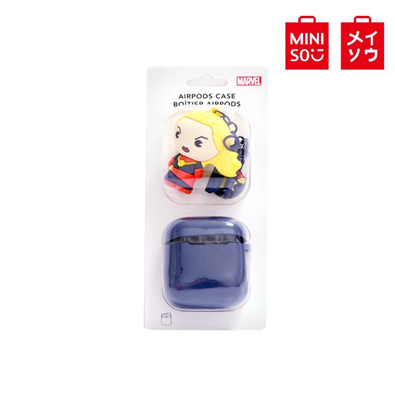 【MINISO名創優品】漫威2.0-可愛人物掛飾 AirPods 套(驚奇隊長)