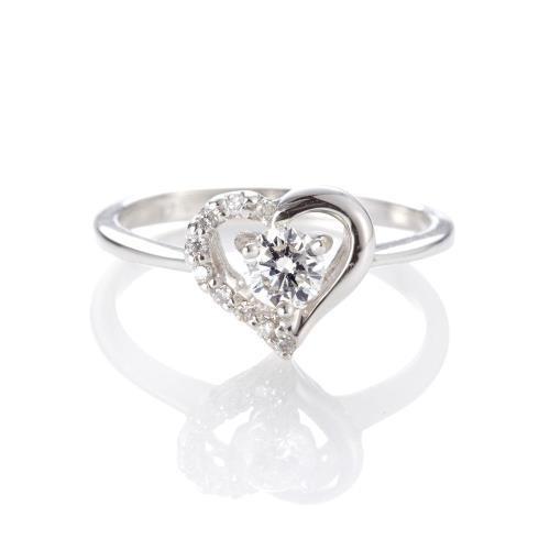 Dolly 求婚戒 0.30克拉 30分完美車工 18K金鑽石戒指(002)