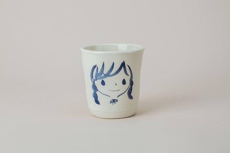 Brut Cake 手繪微笑馬克杯 / 咖啡杯 /茶杯 (66) 有把款