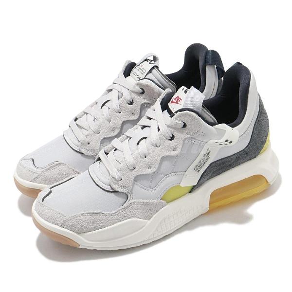 Nike 休閒鞋 Jordan MA2 灰 黃 氣墊 喬丹 男鞋 運動鞋【ACS】 CV8122-002
