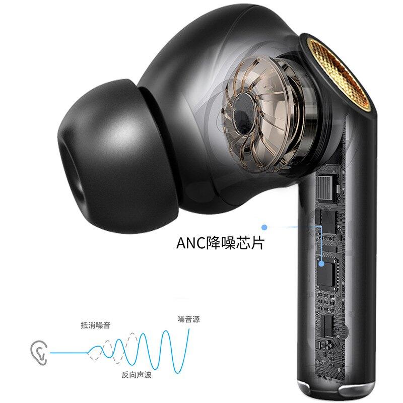 新款ANC主動降噪M20藍芽耳機 私模入耳式tw
