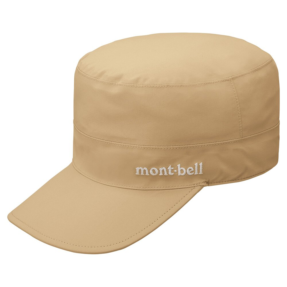 【【蘋果戶外】】mont-bell 1128629 TN 卡其【Gore-tex/70D/工作帽】Meadow Work HAT GTX 防曬 抗UV 防水帽