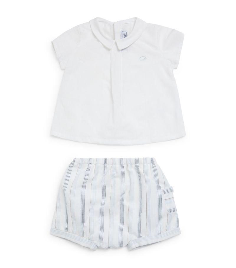 Tartine Et Chocolat Polo Shirt And Shorts Set (1-18 Months)