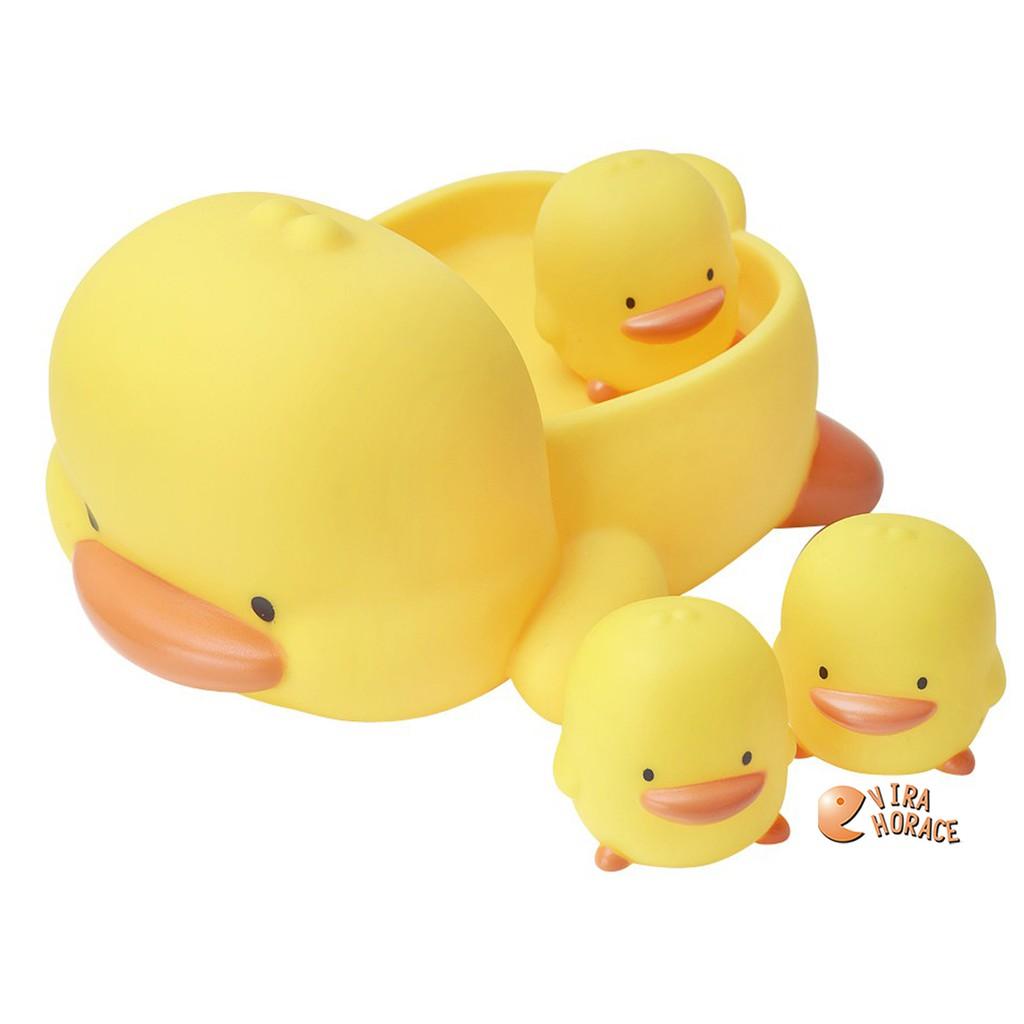 黃色小鴨家族水中有聲玩具組 超可愛黃色小鴨造型 陪伴寶寶度過快樂洗澡時光 GT88081 HORACE