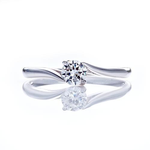 Dolly 求婚戒 0.30克拉 30分完美車工 14K金鑽石戒指(012)