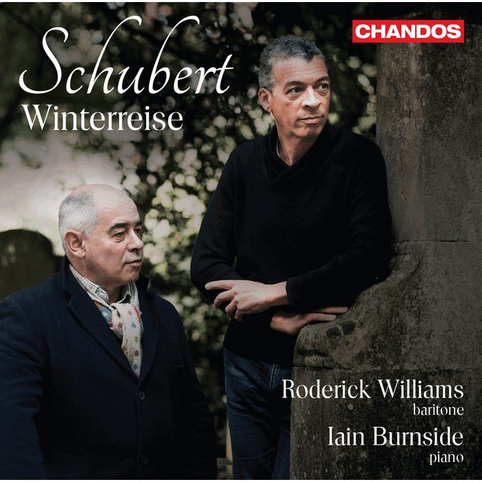 舒伯特 冬之旅 威廉斯 Roderick Williams Schubert Winterreise CHAN20163