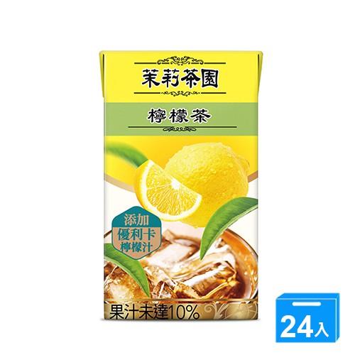 茉莉茶園檸檬茶250ml*24【愛買】