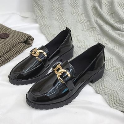 韓國KW美鞋館-漫步夏日金屬鍊條牛津鞋(通勤鞋/休閒鞋)(共1色)