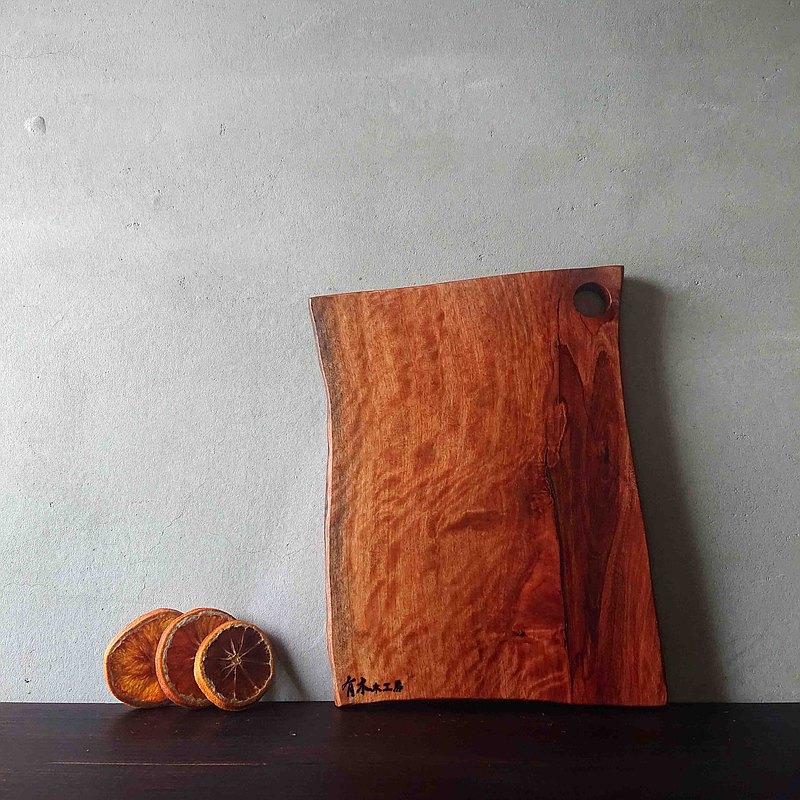 自然造型原木砧板/擺飾板