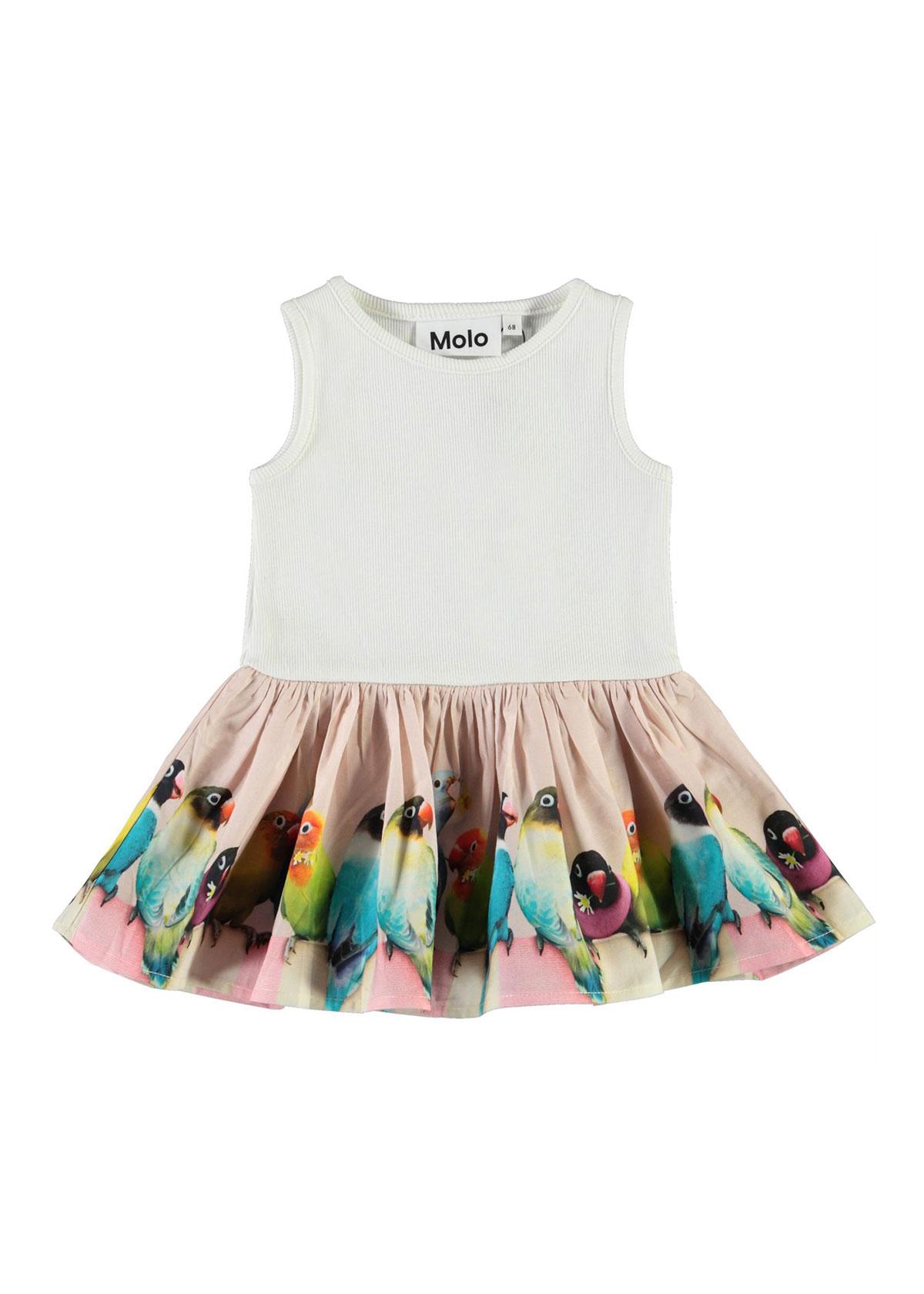 Girl's Fedora Jersey Animal-Print Dress, Size 0-2