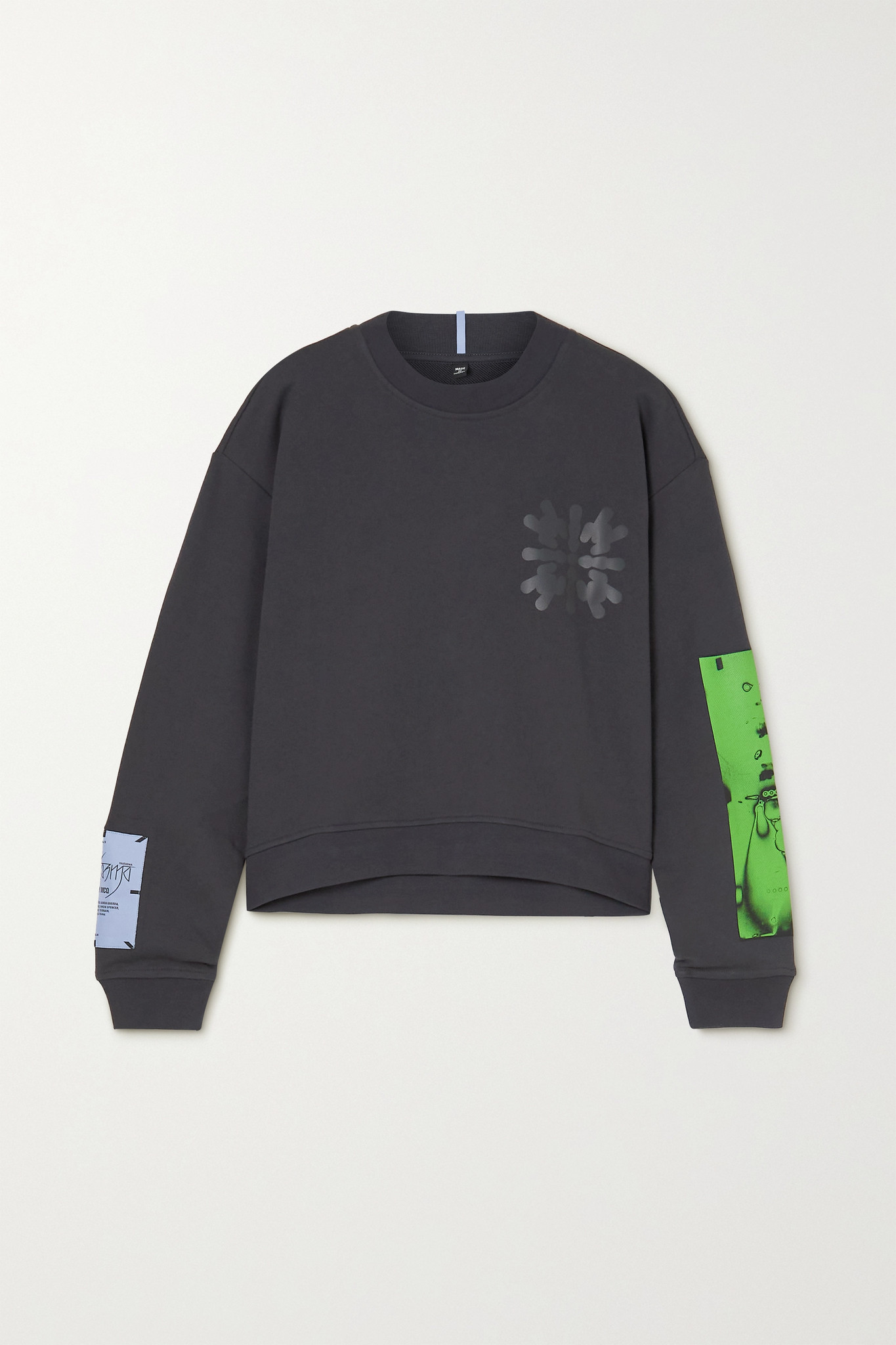 MCQ ALEXANDER MCQUEEN - Dance Appliquéd Printed Cotton-jersey Sweatshirt - Black - large