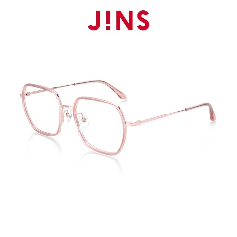 【JINS】 Rhapsody 狂想曲眼鏡(ALRF21S061)透明粉