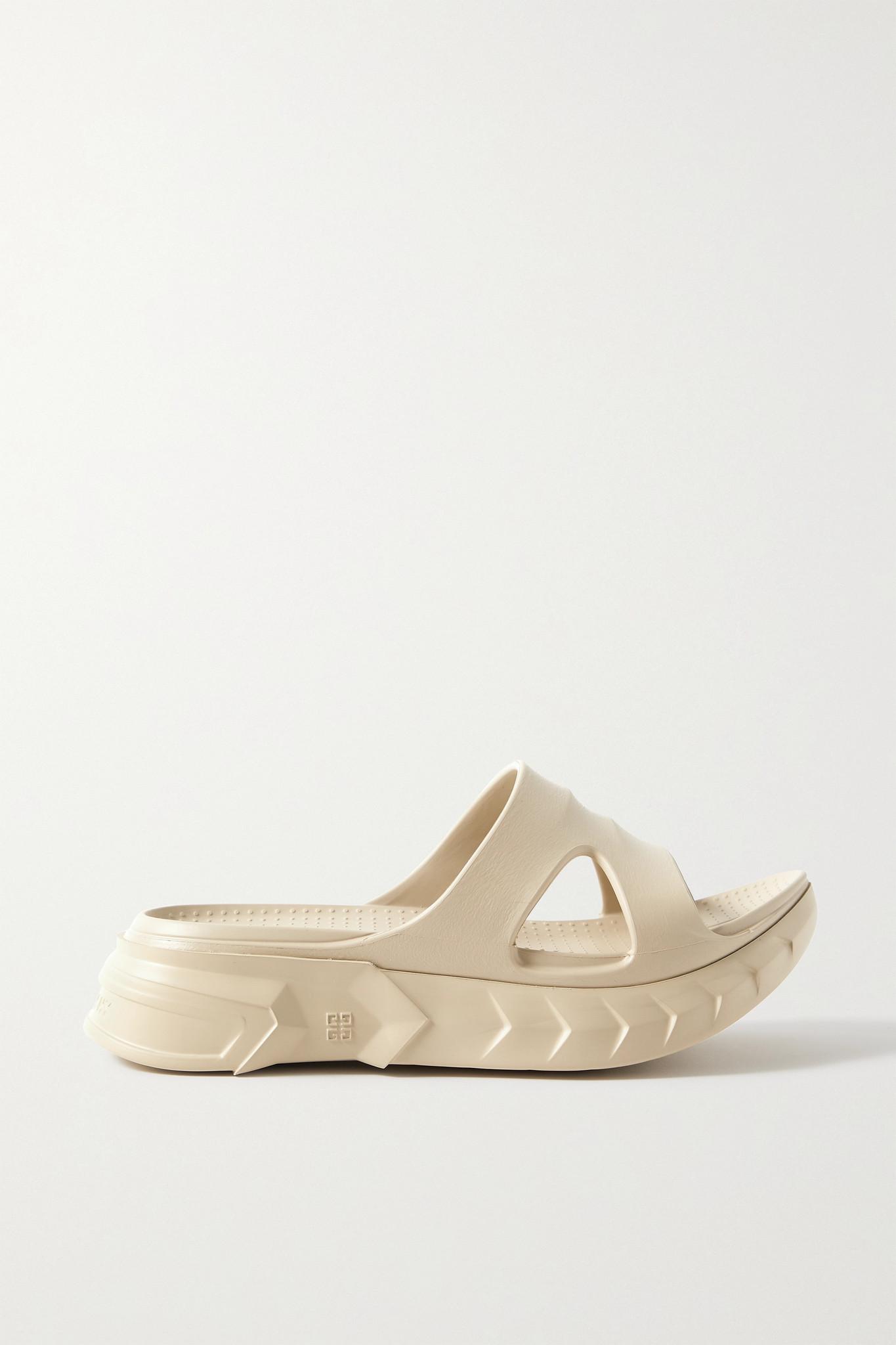 GIVENCHY - Marshmallow 橡胶拖鞋 - 中性色 - IT41