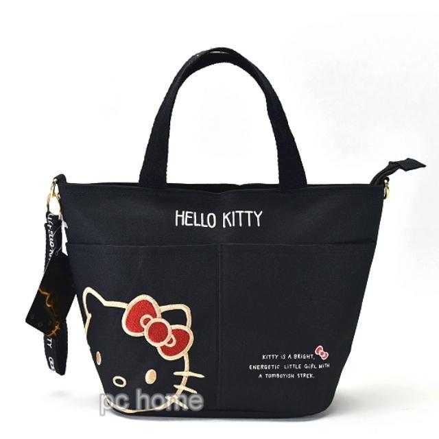 SANRIO【金華kitty】尼龍手提包