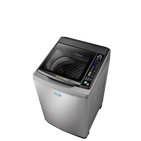 台灣三洋SANLUX 15公斤全玻璃觸控洗衣機時尚灰 SW-15DAG-M