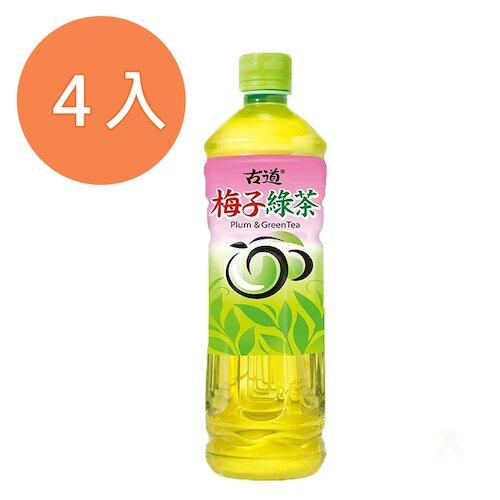 古道 梅子綠茶 600ml (4入)/組