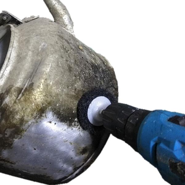 炒鍋鋁壺不銹鋼鍋蒸鍋油煙機油膩重垢電動清潔刷百潔布刷鋼絲刷 【端午節特惠】