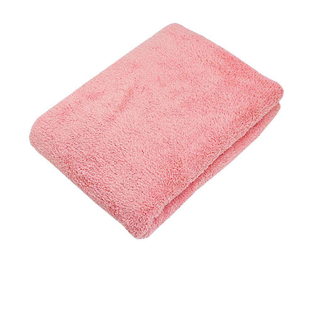 MORINO超細纖維抗菌防臭浴巾-粉【康是美】
