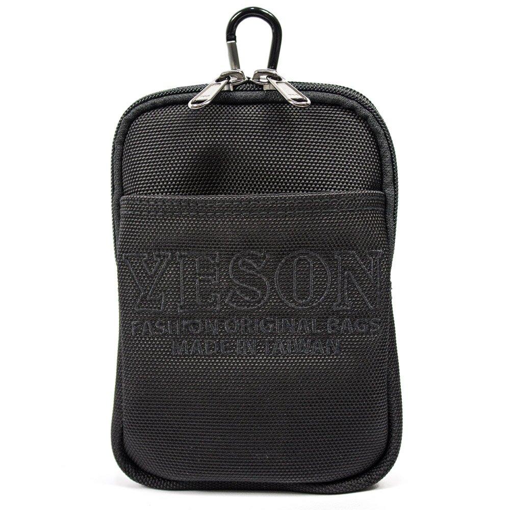 YESON - 可腰掛可肩背多功能休閒包 MG-586-18-黑