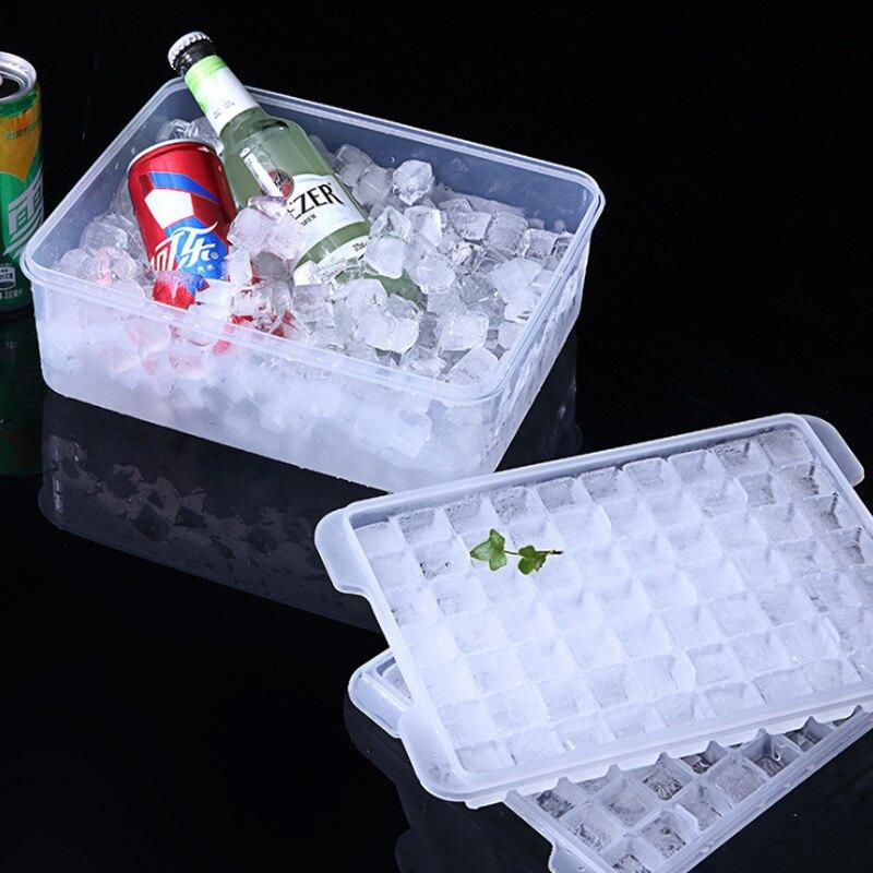 冰格速凍器商用自制冰箱冷凍大冰塊模具帶蓋家用凍冰