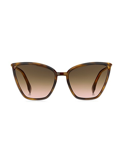 60MM Cat Eye Sunglasses