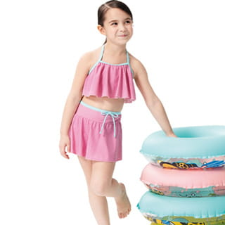 【SARBIS】女童兩截式泳裝附泳帽B822011