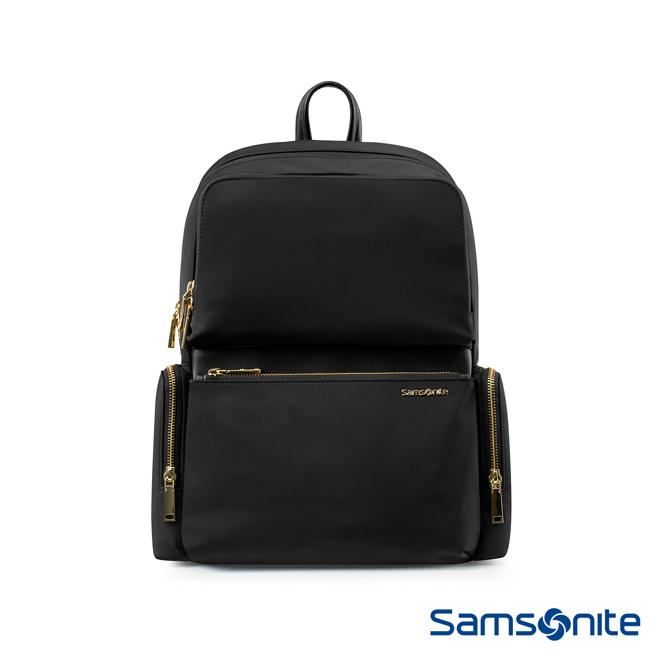 Samsonite新秀麗 ARA 女性都市簡約大容量筆電後背包