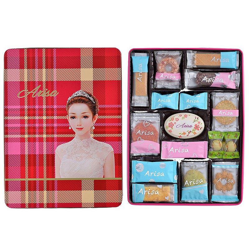 (團購組/台灣免運)亞里莎喜餅 #8號時尚禮盒(一組8盒)
