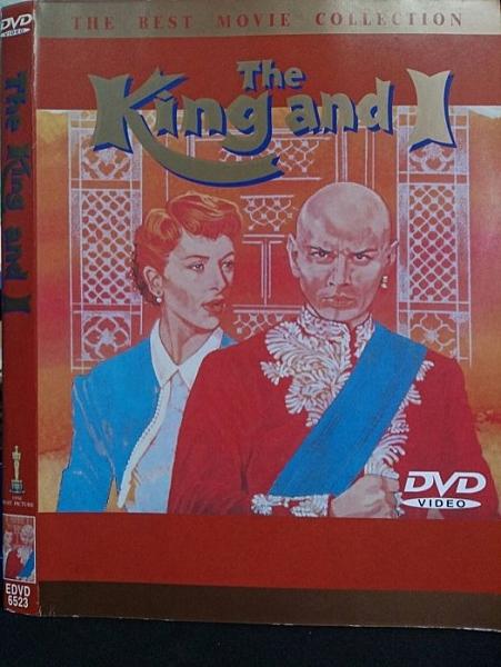 挖寶二手片-T02-390-正版DVD-電影【國王與我】-(直購價)