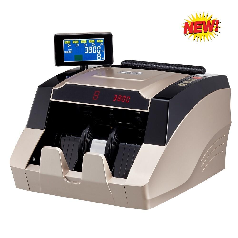 台幣點驗鈔機(銀行專用機)可混鈔點幣